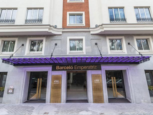 Hoteles paseo de la castellana - Hoteles barcelo en madrid ...