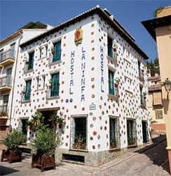 Hoteles granada centro for Hostal jardines granada