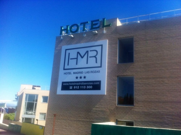 hoteles madrid las rozas: