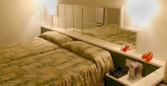 Habitación doble  del hotel City House Rías Altas