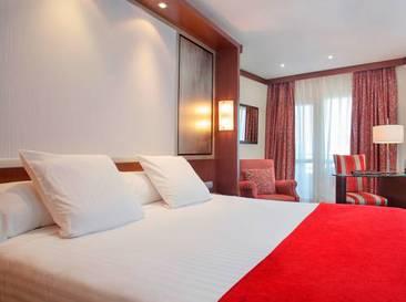 Habitación doble  del hotel Melia Alicante