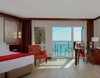 Habitación doble Vista Mar del hotel Melia Alicante