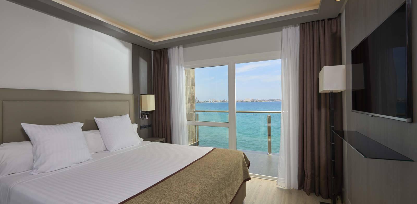 Junior suite Ejecutiva del hotel Melia Alicante