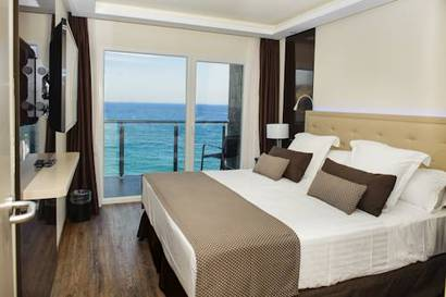 Habitación Doble Premium vista mar del hotel Melia Alicante