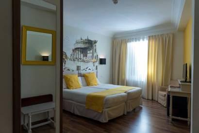 Habitación doble Económica del hotel Palacio de Valderrabanos