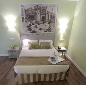 Suite  del hotel Palacio de Valderrabanos