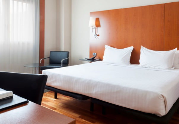 Junior suite  del hotel AC Hotel Badajoz by Marriott