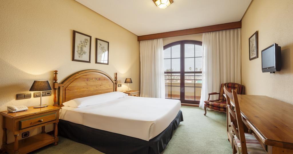 Habitación doble  del hotel Ilunion Golf Badajoz