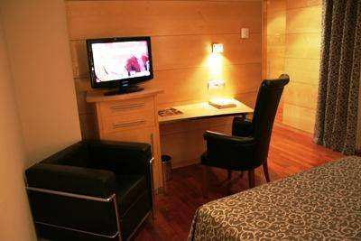 Habitación doble  del hotel Sansi Diputació