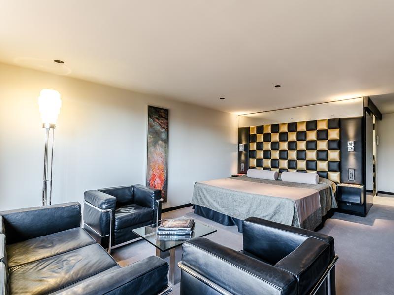Suite  del hotel Sansi Diputació