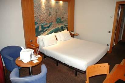 Habitación doble  del hotel Abba Sants