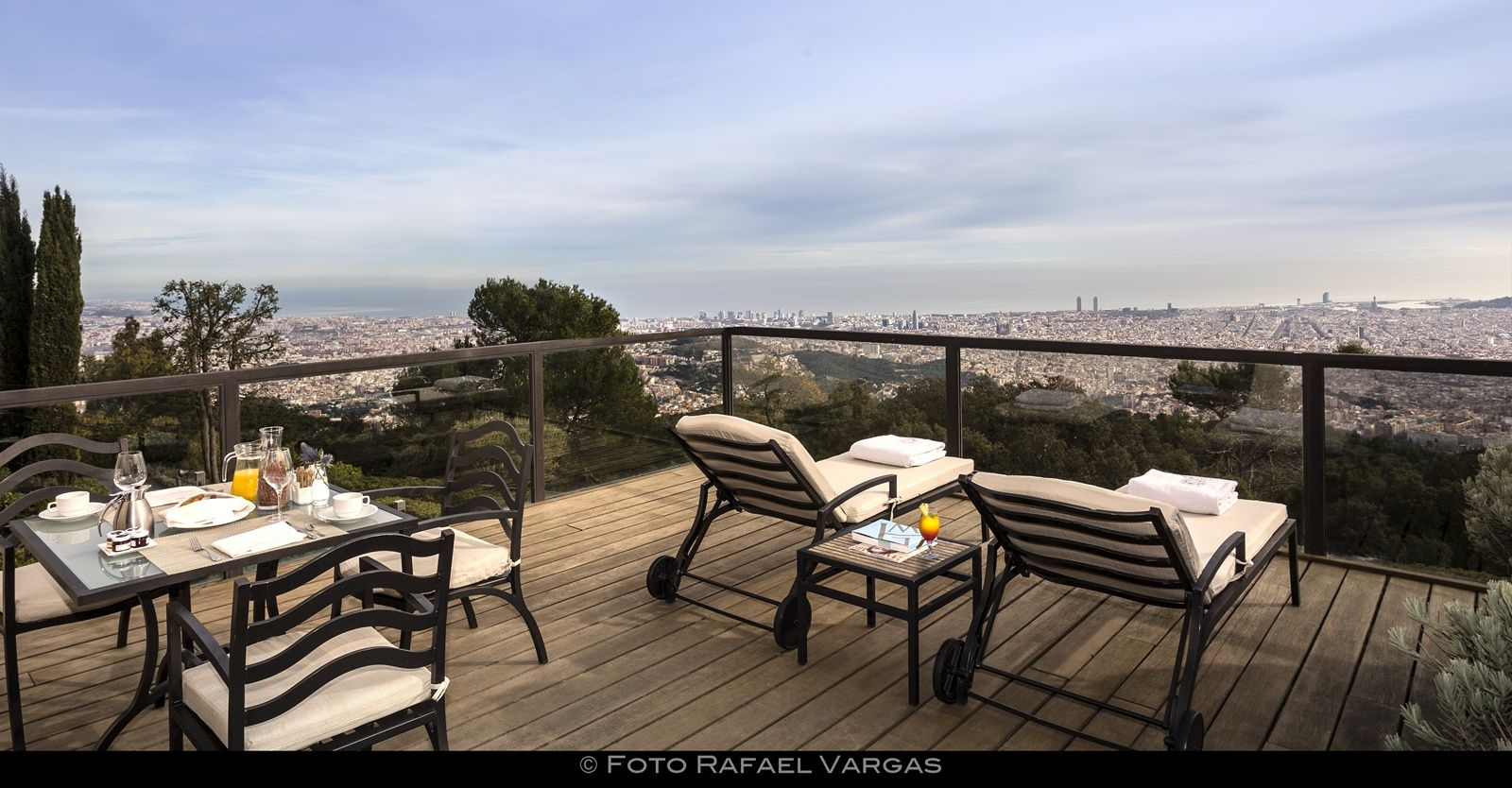 Hotel gran hotel la florida barat simo - Ducha en la terraza ...