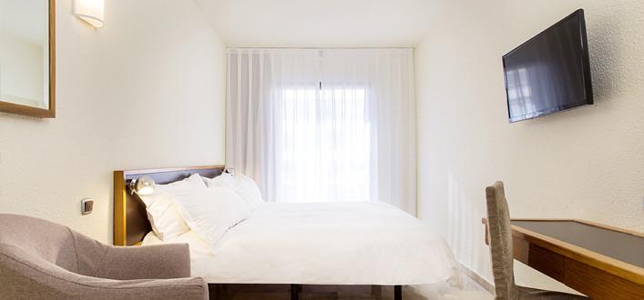Habitación Doble XL del hotel Expo Barcelona