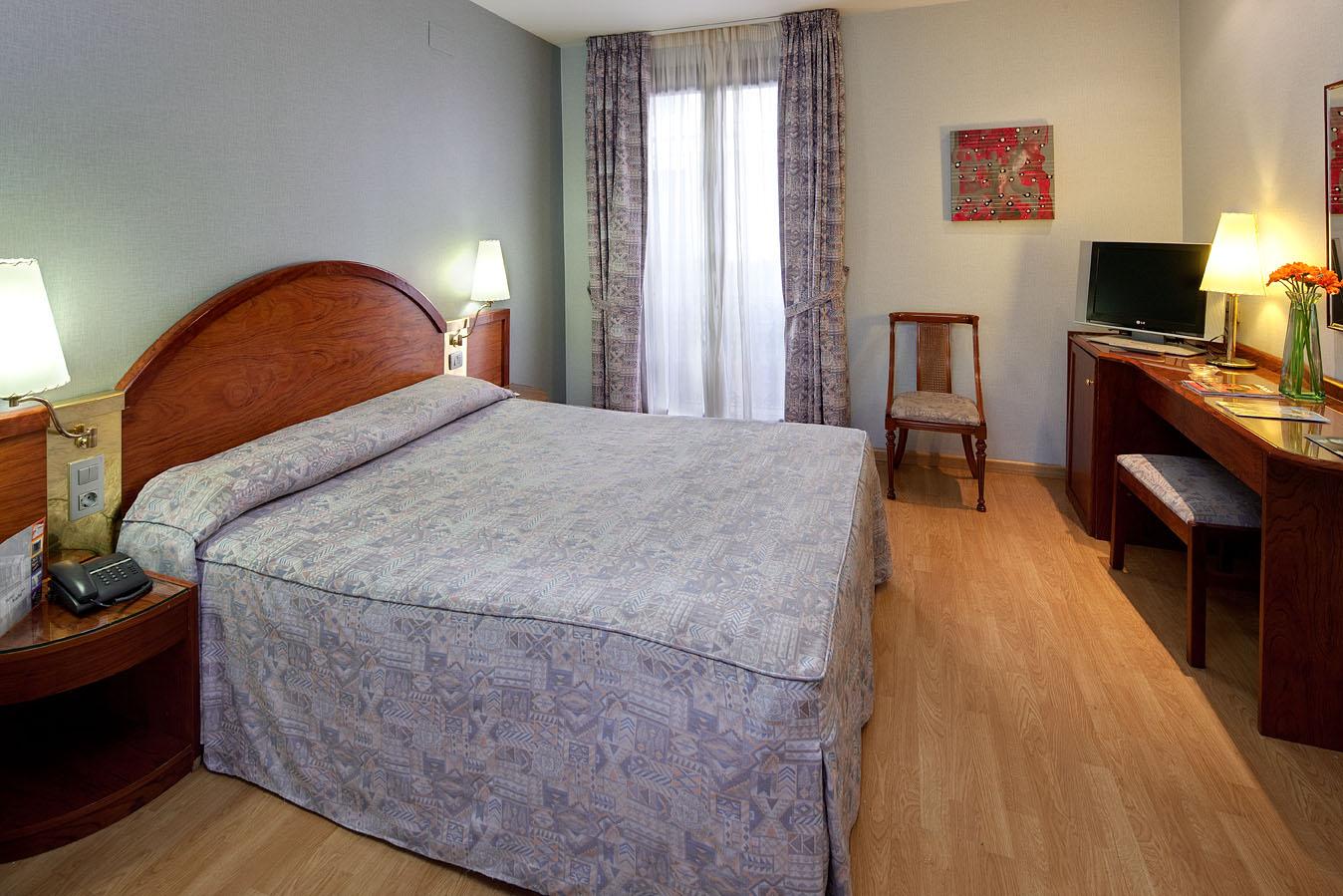 Habitación doble  del hotel Rialto