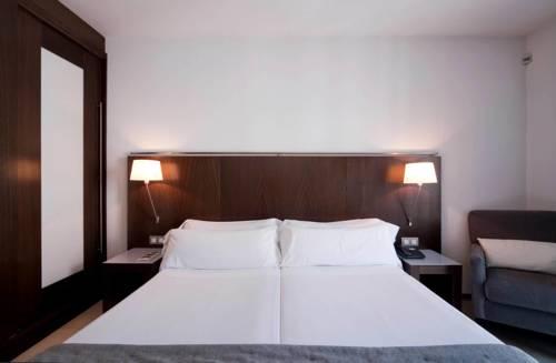Habitación Doble sin vistas dos camas separadas del hotel Actual