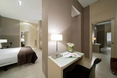 Habitación familiar  del hotel Actual