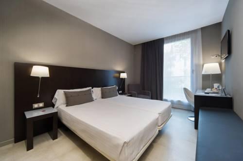 Habitación doble dos camas separadas del hotel Actual
