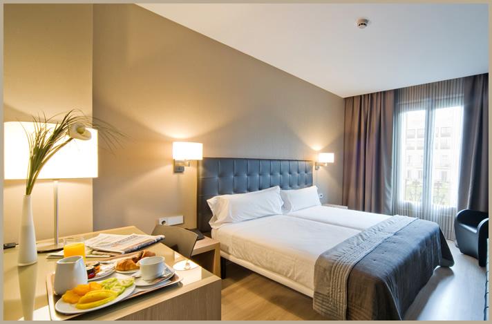 Habitación doble Superior del hotel Actual