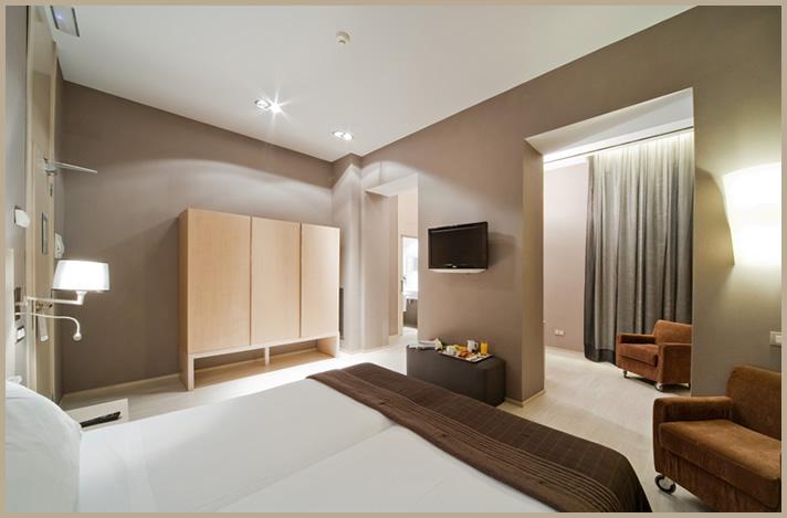 Habitación doble Superior del hotel Actual. Foto 1