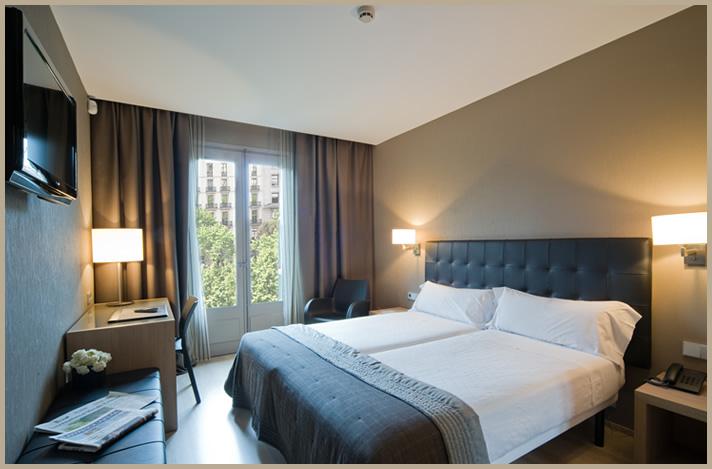 Habitación doble Superior del hotel Actual. Foto 2