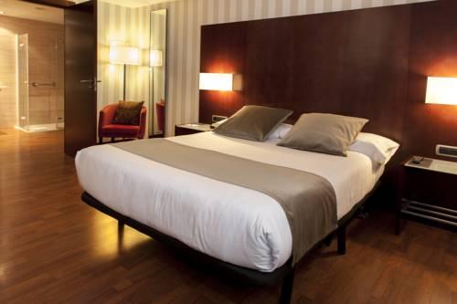 Habitación doble  del hotel Zenit Barcelona