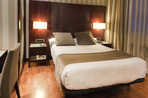 Habitación doble Económica del hotel Zenit Barcelona