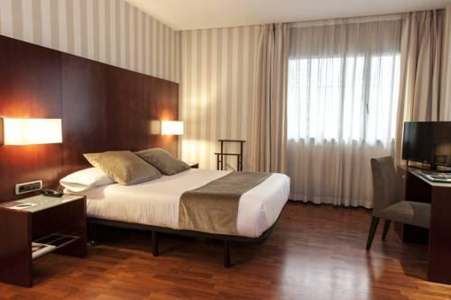 Habitación doble  del hotel Zenit Barcelona. Foto 1