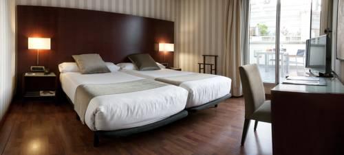 Habitación doble Terraza Superior del hotel Zenit Barcelona. Foto 1