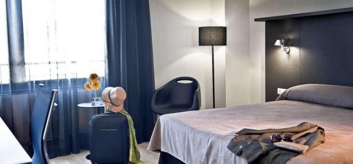 Habitación doble  del hotel Alimara
