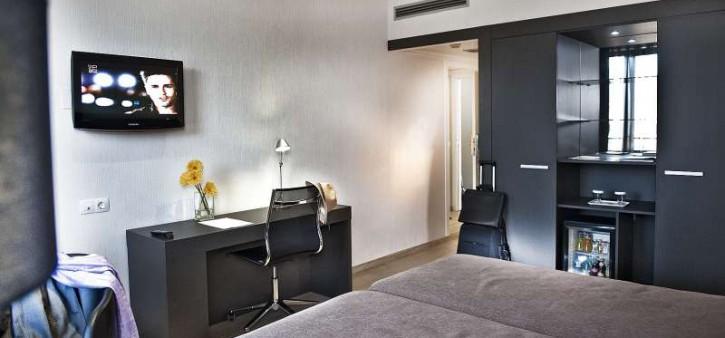 Habitación doble dos camas separadas del hotel Alimara