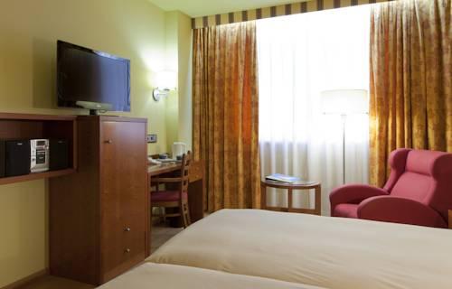 Habitación doble dos camas separadas del hotel Spa Senator Barcelona