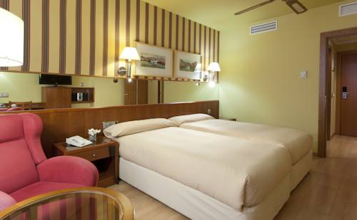 Habitación doble dos camas separadas del hotel Spa Senator Barcelona. Foto 1