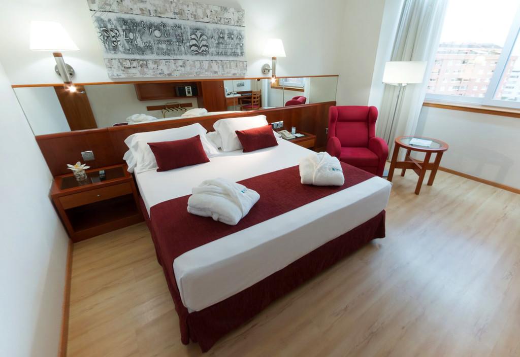 Habitación doble Ejecutiva del hotel Spa Senator Barcelona