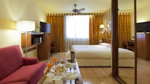 Habitación familiar  del hotel Spa Senator Barcelona