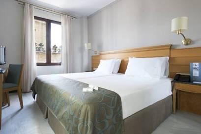 Habitación doble  del hotel Eurostars Maimonides