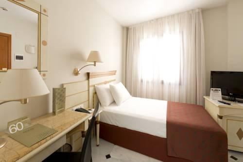Habitación individual  del hotel Eurostars Conquistador