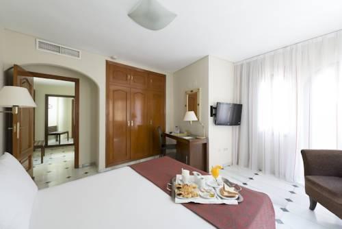 Habitación doble  del hotel Eurostars Conquistador