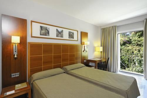 Habitación doble dos camas separadas del hotel Eurostars Las Adelfas