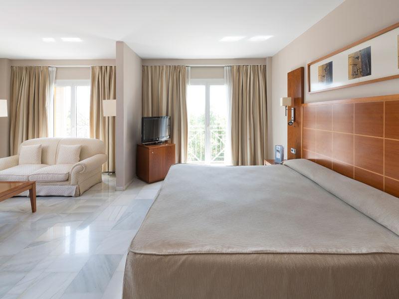 Junior suite  del hotel Eurostars Las Adelfas