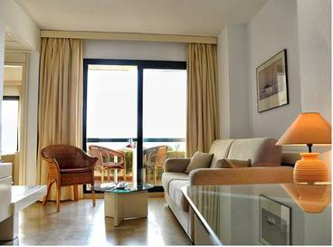 Junior suite  del hotel AR Almerimar