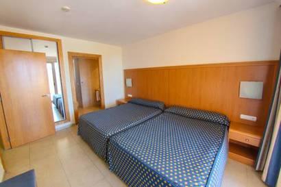 Habitación doble dos camas separadas del hotel Neptuno