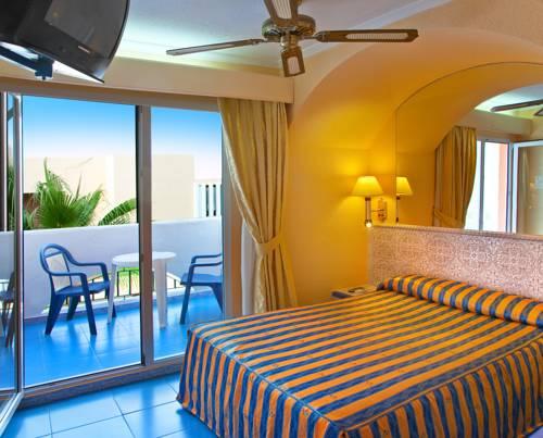 Habitación individual  del hotel Diverhotel Roquetas