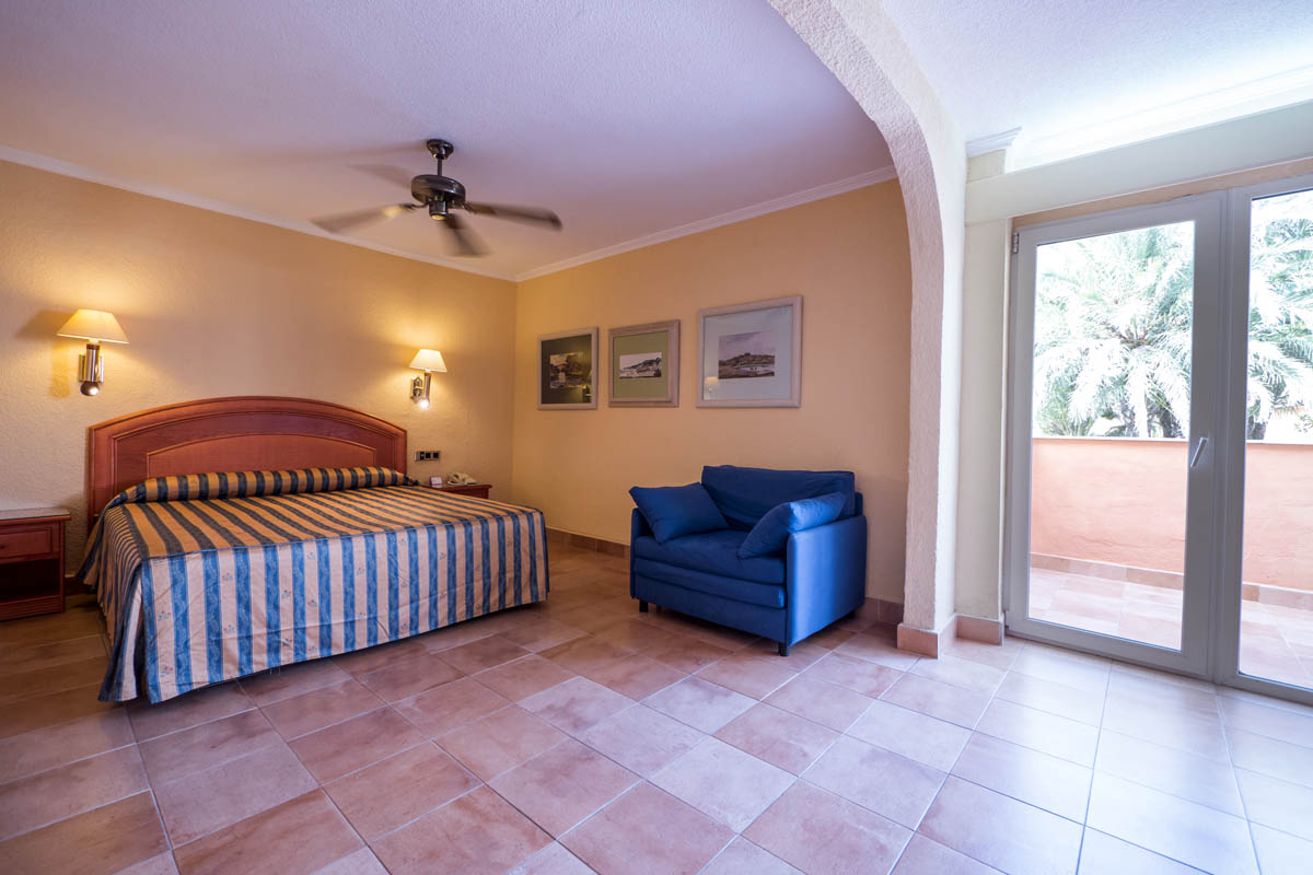 Habitación doble Superior del hotel Diverhotel Roquetas