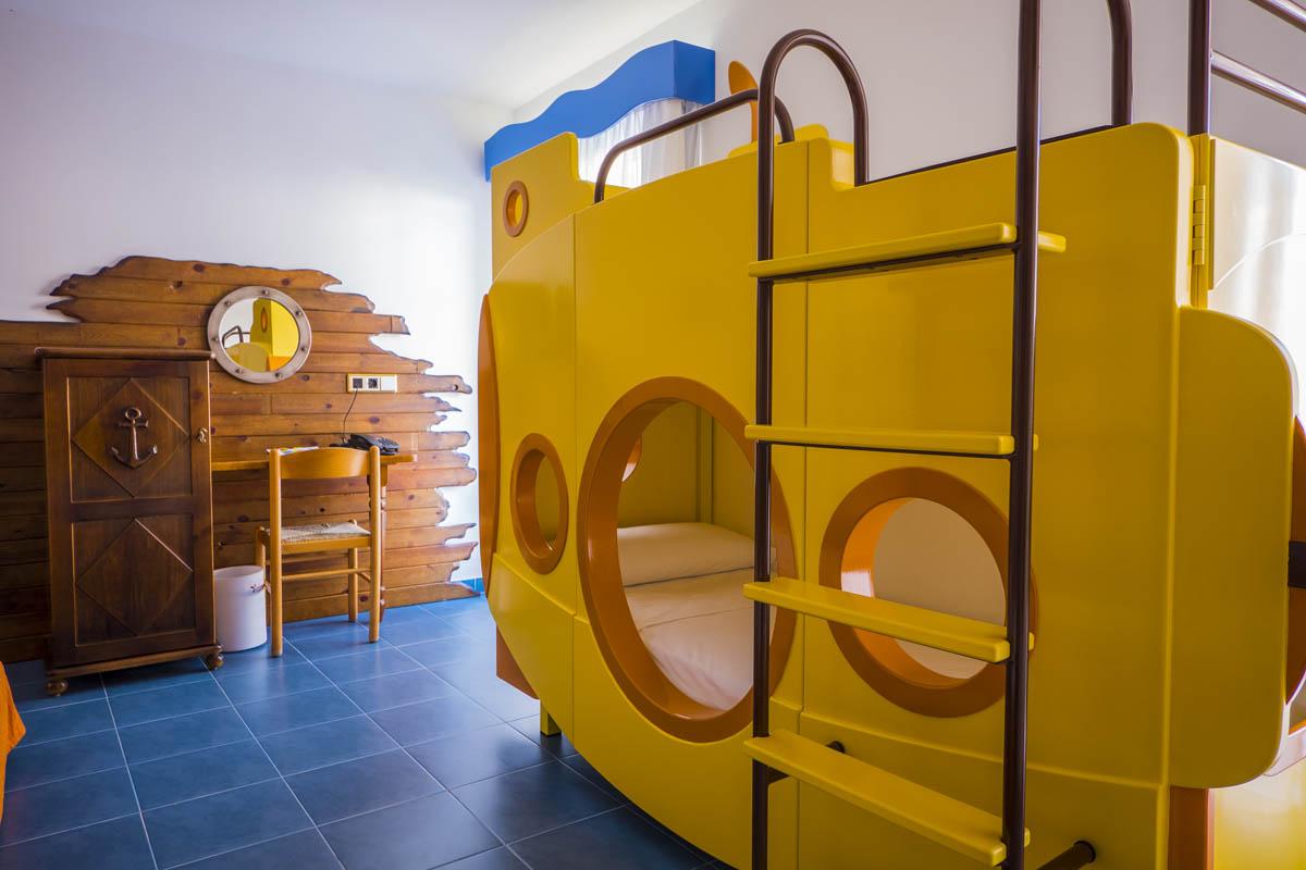 Habitación doble Temática del hotel Diverhotel Roquetas. Foto 1