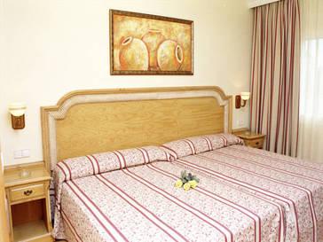 Suite  del hotel Peñiscola Plaza Suites