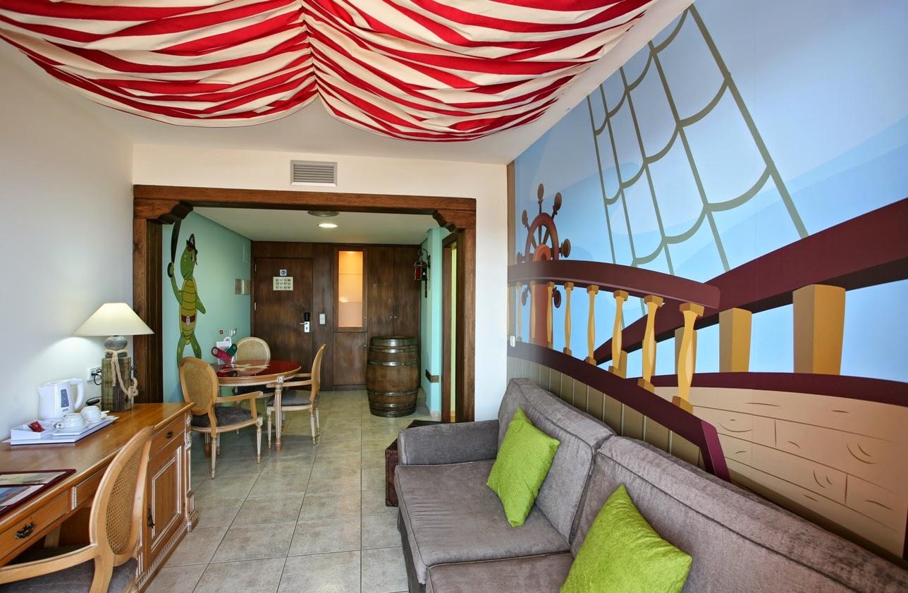 Suite Zetty del hotel Peñiscola Plaza Suites