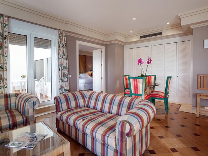 Suite  del hotel Playa Victoria