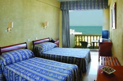 Habitación doble  del hotel Al Sur de Chipiona