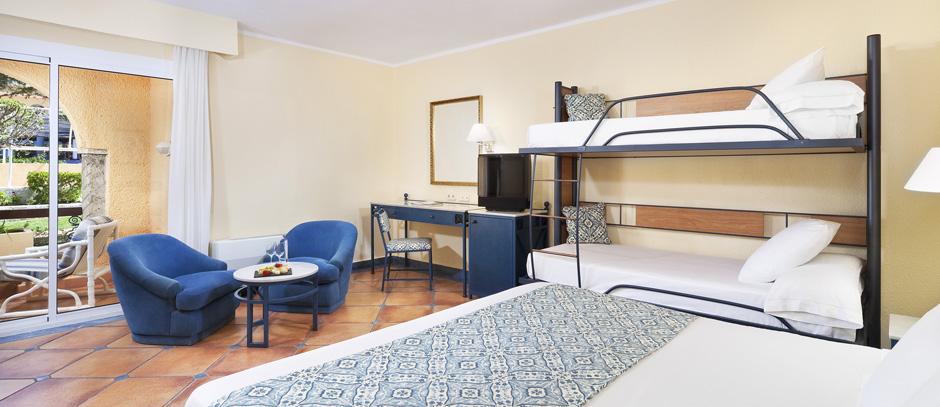 Hotel melia atlanterra barat simo for Hotel habitacion familiar ibiza