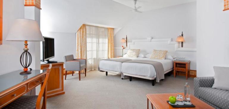 Junior suite  del hotel Meliá Atlántico Isla Canela